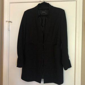 Zara Basic long blazer black. Brand new.
